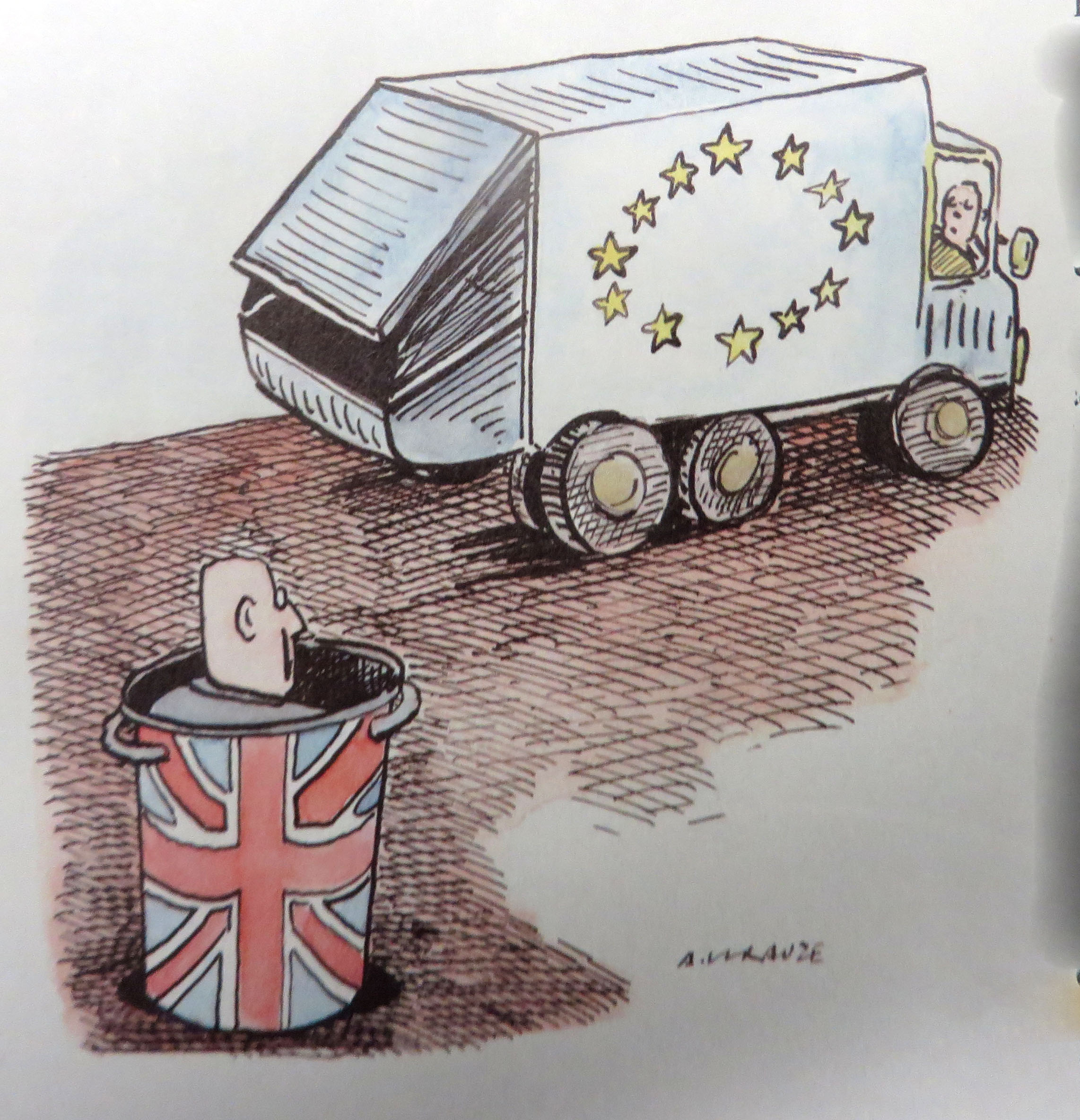 """Brexit cartoon"", by Gwydion M. Williams. CC-BY-2.0 via Flickr."