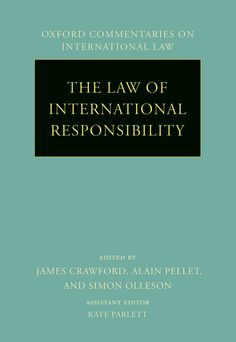 The Law of International Responsibility