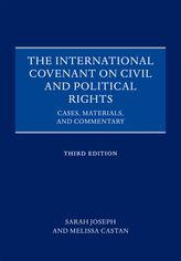 The International Covenant on Civil and Political RightsCases, Materials, and Commentary